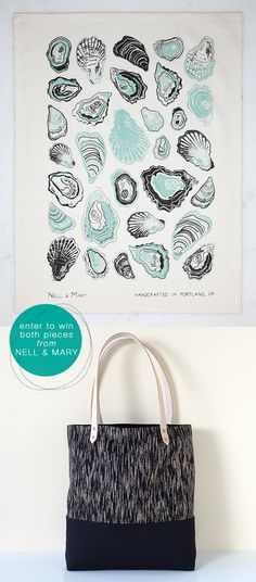 enter to win this tote bag and this tea towel from Nell & Mary #giveaway http://jojotastic.com/2014/09/23/nell-mary-giveaway/