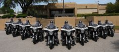 Cops on Victory Motorcycles....COOL, yet scary, now they can keep up.