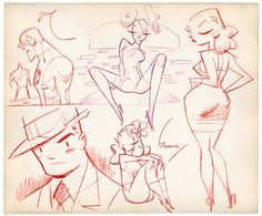 Bringing you daily updates from around the world of What's new in the Pin Up art arena. Comic Drawing, Cartoon Drawings, Cartoon Art, Drawing Reference Poses, Drawing Poses, Anatomy Sketches, Retro Cartoons, Character Design References, Character Drawing