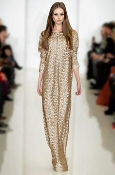 NYE nightgown, Rachel Zoe Fall 2012