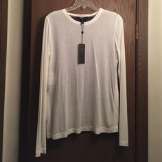 NWT BCBG White/Black Top NEW- White Front/Short Black Top. Long sleeves. BCBGMaxAzria Tops Tees - Long Sleeve