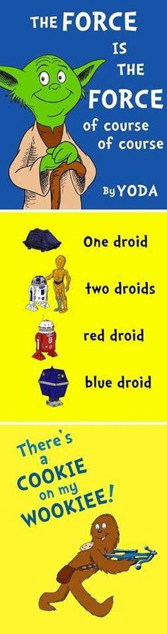 Star Wars meets Dr. Seuss