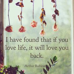 Find your love of life!