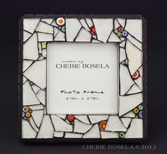 All CrackedUp - Mosaic Photo Frame by CherieBosela