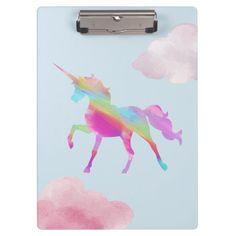 Shop Clipboard - The Rainbow Unicorn created by Arumdalu. Unicorn Room Decor, Unicorn Rooms, Unicorn Bedroom, Unicorn Head, Unicorn Art, Magical Unicorn, Rainbow Unicorn, Unicorn Fashion, Unicorn Outfit