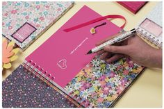 Bold colours to display those happy memories - get scrapbooking with our gorgeous scrapbook from our Mia Stationery range Bright Colors, Colours, Studying, Pink And Green, Summertime, Stationery, Scrapbooking, Range, Display