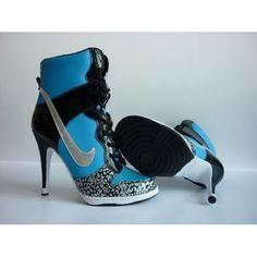 Nike Dunk High Heel Shoes For Women Shoes 340216, nike tennis classic