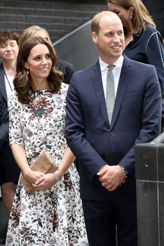 Prince William, Duke of Cambridge and Catherine, Duchess of Cambridge visit the Gdansk Shakespeare Theatre during an official visit to Poland and Germany on July 18, 2017 in Gdansk, Poland.