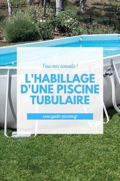 Habillage piscine tubulaire : tout savoir pour créer un habillage esthétique et discret pour votre piscine tubulaire. #piscine #tubulaire #habillage Gardens, Piscine Hors Sol, Tick Insect, Low Key