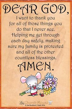 Little Church Mouse: Dear God, Thank You.Yes Jesus, thank you from the very bottom of my heart. What a mighty God I serve. Prayer Verses, Bible Prayers, Prayer Quotes, My Prayer, Bible Scriptures, Bible Quotes, Church Prayers, Qoutes, Prayer Ideas