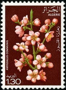 Stamp: Almond (Algeria) (Flowering trees) Mi:DZ 720,Sn:DZ 609,Yt:DZ 681