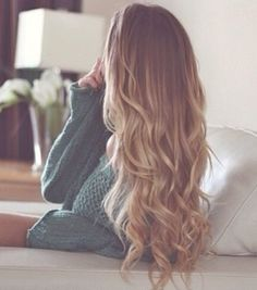 lovely loose curls.