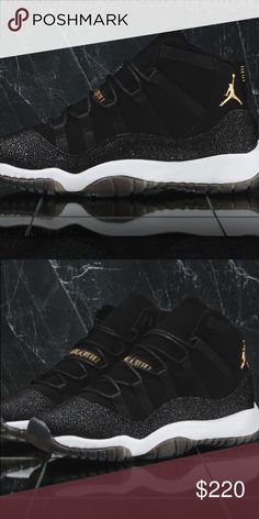 4491d98f6b4965 Air Jordan 11 PRM Heiress Black Stingray