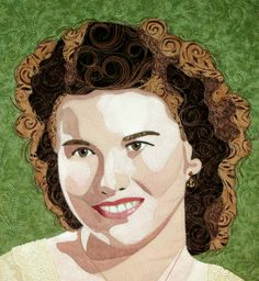 Check out http://cindygarciaquilts.com!  The portrait quilts made by Cindy Garcia.  Marilyn Belford style fused quilts.