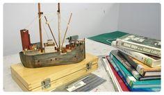Lucy Satzewich's Model Ship #art #sculpture #ghostships