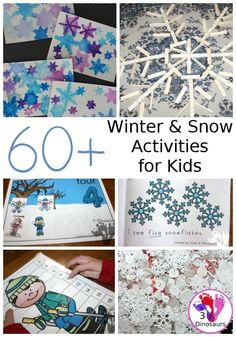 Snow & Winter Activities & Printables - Snow and Winter themed activites & printables – - Snow Activities, Winter Activities For Kids, Painting Activities, Preschool Activities, Toddler Preschool, Toddler Crafts, Crafts For Kids, Snow Theme, Winter Theme
