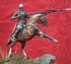 Figures: Russian Warrior, XIV century