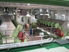 ships engine room