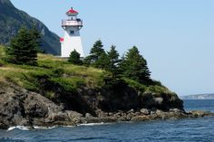 Woody Point Lighthouse, Gros Morne National Park, Newfoundland, Canada