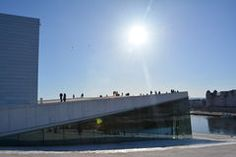 Oslo Opera House_Oslo City Royalty Free Stock Photos