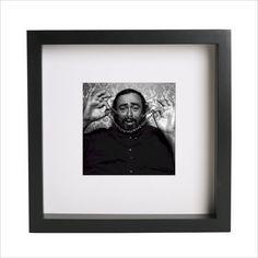 Luciano Pavarotti Opera singer custom framed and by DivasAndIcons