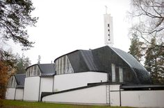 539. Church of the Three Crosses – Vuoksenniska, Imatra, Finland