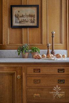 Quarter Sawn Rift White Oak   At Home in Darien   Sarah Blank Design Kitchen & Bath