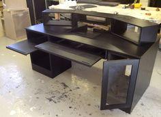 My DIY Recording Studio Desk | Home and Interior Design Ideas