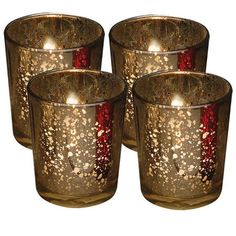 Biedermann and Sons Rustic Glass Votive Candle Holder
