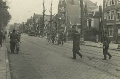 May 8, 1945. NSB-members are arrested by the BS and members of the resistance movement. Photo Bönnekamp. In total approximately 120,000 collaborators were arrested after the liberation. #amsterdam #worldwar2