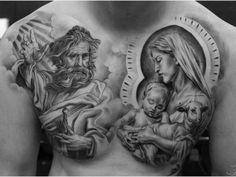 Tatuajesreligiosos  Descubre las mejores imagenes de tatuajesreligiosos     Los tatuajes religiosos quizás sean la forma más antigua de tatuaje, realizándose desde tiempos inmemoriales por multitud de culturas, aunque solo en fechas muy recientes se ha desprovisto del sentido más puramente religioso para dárseles en ocasiones connotaciones más estéticas. También, si en un