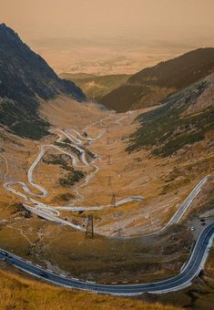 The transfagarasan highway,. these are confusing, but it arrives at the destination. Tour Around The World, Travel Around The World, Around The Worlds, Travel Tours, What A Wonderful World, Horseback Riding, Continents, Romania, Wonders Of The World