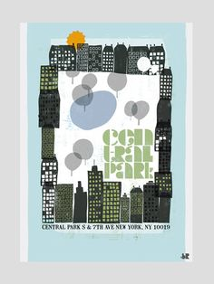 Central Park by biroRobot