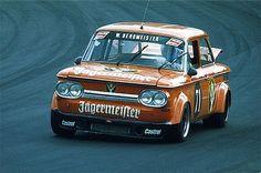 1975 Touring Car GP of the Nürburgring. Willi Bergmeister's NSU TTS