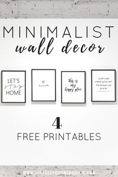Decorating Mistakes That Make Your Home Look Messy - Abundator Free Printable Quotes, Printable Wall Art, Free Printables, Bathroom Printable, Wall Art Decor, Room Decor, Cheap Wall Decor, Room Art, Muebles Sims 4 Cc