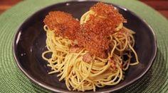 Carbonara with Pecorino Frico Recipe | The Chew - ABC.com