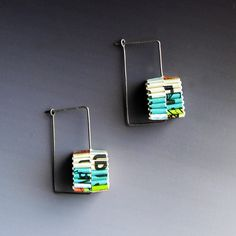 Another eco-friendly earrings