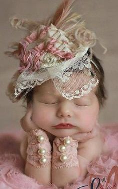 OMG! I just died, that is the cutest picture ever.: Newborn Baby Girl Photo…