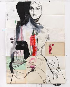 fashion collage Diary Recycling 123 x 89 Mode Collage, Collage Art, Art And Illustration, Fashion Illustration Collage, Art Sketches, Art Drawings, Silhouette Mode, Inspiration Artistique, Figurative Kunst