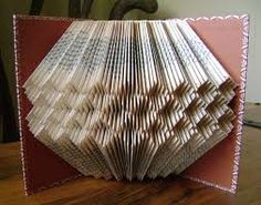 Image result for book page folding patterns                                                                                                                                                      More