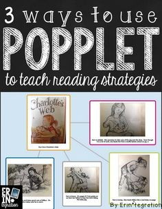 A few ways to use the free iPad app Popplet to teach reading strategies. Learn more about how to integrate this app into reading workshop.