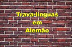 Olá a todos! neste video vão aprender 10 trava-línguas em alemão! =) sigam-me nas redes sociais: Facebook: https://www.facebook.com/alexsousa1989/?fref=ts In...