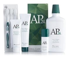 Includes Fluoride Toothpaste, Whitening Toothpaste, 3-Pack of Toothbrushes, Breath Spray, and Mouthwash.
