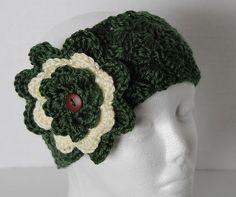 Rich Green Simply Soft Earwarmer/Headband by SnugableTouches, $10.00