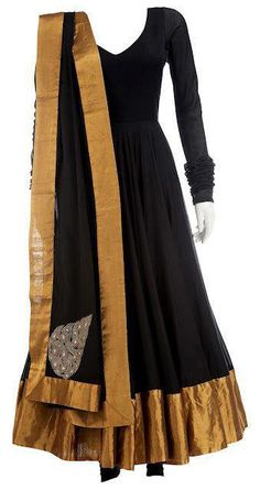 Sabyasachi Black Anarkali