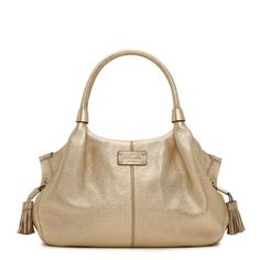 Macdougal Alley Metallic Stevie Kate Spade Handbag... love it