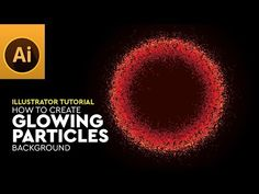 """Hi viewers, this tutorial guides you, """"how to create glowing particle vector background"""" in adobe illustrator. In this tutorial also guides basics like how t. Adobe Illustrator Tutorials, Ai Illustrator, Photoshop Illustrator, Creative Suite, Vector Background, Graphic Design, Graphics, Illustrations, Logo"""