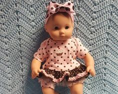 AMERICAN GIRL Bitty Baby Clothes Just Plain Ducky by TheDollyDama