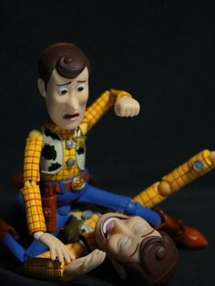 woody is conflicted