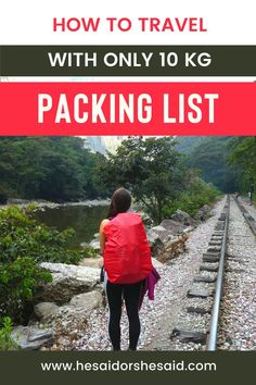 Sounds impossible? It's far from that and easier than you think. This is a complete packing guide to help you decide what to pack and how to pack for any trip!  #packinglist #packingguide #travelguide #worldtripguide #worldtrip Ways To Travel, Best Places To Travel, Work Travel, Travel Advice, Travel Tips, Travel Hacks, Budget Travel, Travel Destinations, Business Trip Packing